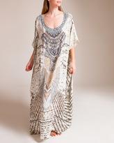 Camilla Love Weave Round Neck Kaftan