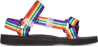 Arizona Love Rainbow Trekky ribbon sandals