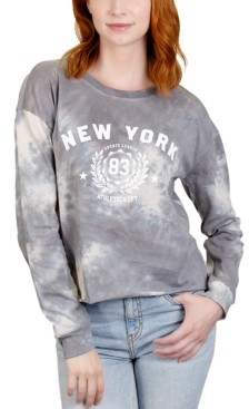 Rebellious One Juniors' New York Tie-Dye Graphic T-Shirt