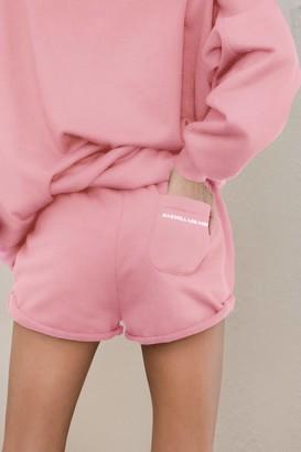 Ragdoll LA SWEAT SHORTS Hot Pink