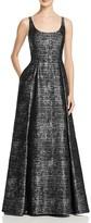 Aidan Mattox Sleeveless Sequin Gown