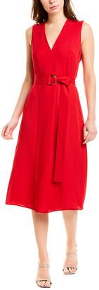 Jason Wu Belted Midi Dress
