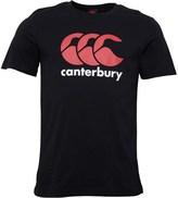 Canterbury of New Zealand Mens CCC Logo T-Shirt Black/Red