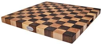 Baccarat Butchers Corner Endgrain Checker Chopping Board 40 x 40cm