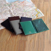 Undercover Leather Passport Cover