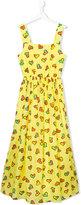 Moschino Kids heart print dress