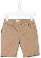 Armani Junior classic five pocket shorts