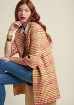ModCloth Retro Declaration Coat in XS