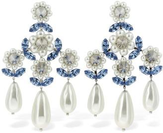 Simone Rocha Embellished Chandelier Earrings
