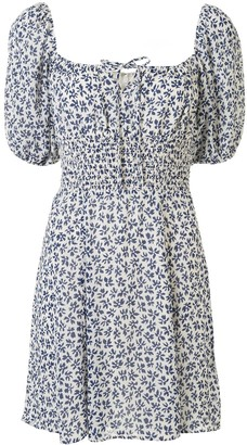 Reformation Jo floral-print mini-dress