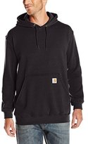 Carhartt Men's Midweight Sweatshirt Hooded Pullover Original Fit K121,Dark Brown,X-Large