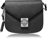 MCM Patricia Park Avenue Black Leather Small Shoulder Bag