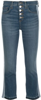 Veronica Beard Mid Rise Flared Jeans