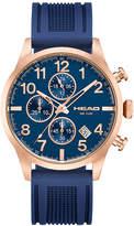 Head Unisex Blue Strap Watch-He-007-05