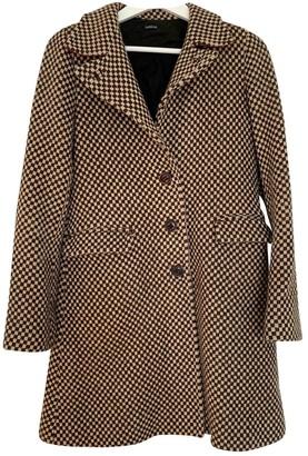 Joseph Beige Wool Coat for Women