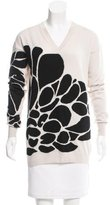 Bottega Veneta Cashmere Floral Pattern Sweater