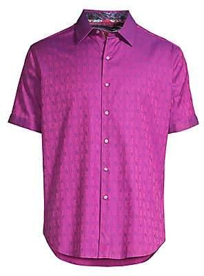 Robert Graham Men's Atlas Stretch Egyptian Cotton Shirt