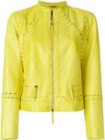 Roberto Cavalli stitch detail jacket