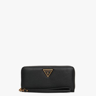 GUESS Destiny Black Zip Around Wallet