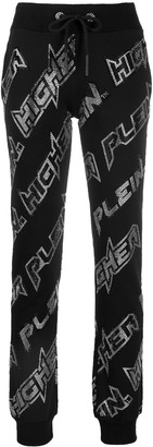 Philipp Plein Space slim fit track pants