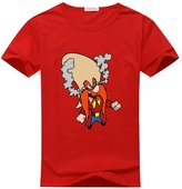 Ccttdiy Men's Yosemite Sam T-shirts, Yosemite Sam Printed Tee Shirts