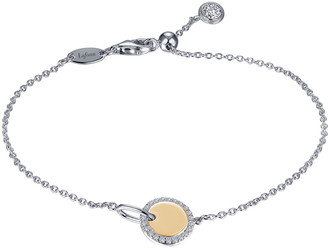 Lafonn Simulated Diamond Charm Bracelet