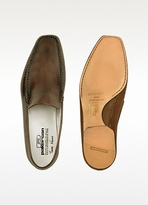 Pakerson Dark Brown Italian Handmade Leather Loafer Shoes
