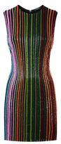Balmain Beaded Stripe Dress