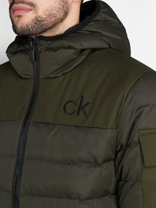 Calvin Klein Golf Lassen Padded Jacket - Khaki