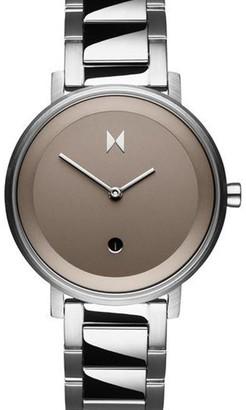 MVMT Women's Signature Ii Watch - Cloud Silver, 34mm