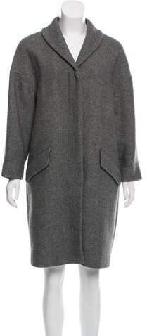 Dries Van Noten Wool Oversize Coat