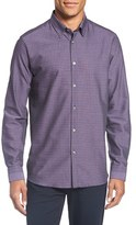 Ted Baker Men's 'Rugbee' Trim Fit Check Sport Shirt