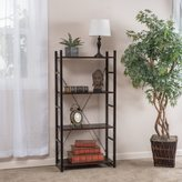Christopher Knight Home Bolton Four-Shelf Industrial Bookcase