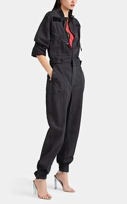 RE/DONE Women's Cotton Ripstop Jumpsuit - Black