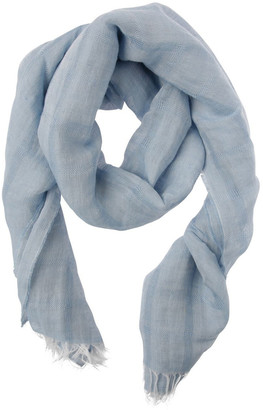 Trent Nathan Textured Solid Scarf
