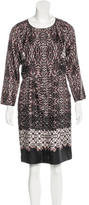 Tibi Silk Abstract Print Dress w/ Tags