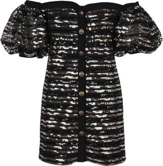 Philosophy di Lorenzo Serafini Philosophy Sequins Mini Dress