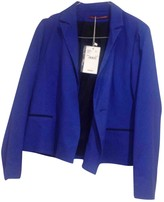 Comptoir des Cotonniers Blue Cotton Jacket for Women
