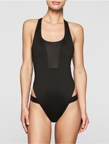 Calvin Klein Cutting Edge Racerback Swimsuit