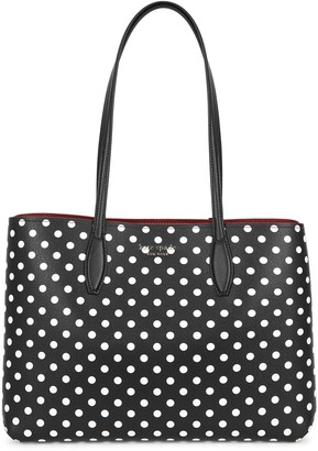 Kate Spade All Day Polka-dot Leather Tote