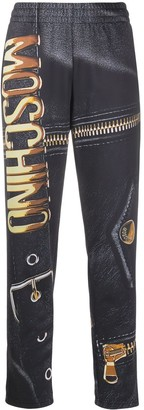 Moschino Graphic Print Track Pants