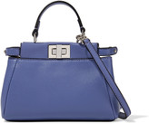 Fendi Micro Peekaboo leather shoulder bag