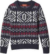 Joe Fresh Toddler Boys' Fair Isle Sweater, JF Midnight Blue (Size 5)