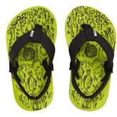Reef Boy's Grom Footprints Sandal