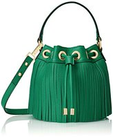 Milly Essex Fringe Small Drawstring Convertible Cross Body Bag
