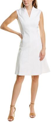 Brooks Brothers Jacquard A-Line Dress