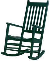 International Concepts Classic Black Porch Rocking Chair - Outdoor