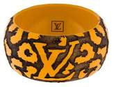 Louis Vuitton Wide Leomonogram Bracelet