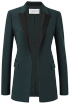Amanda Wakeley Kashino Raven Tux Jacket