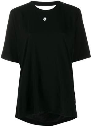 Marcelo Burlon County of Milan Love T.T.E. open back T-shirt